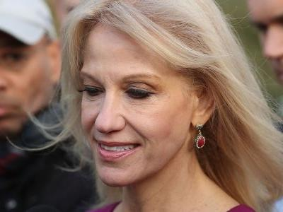Kellyanne Conway said her husband's anti-Trump tweets were 'a violation of basic decency' if not their 'marital vows' - but wanted to be identified as 'a person familiar with their relationship'