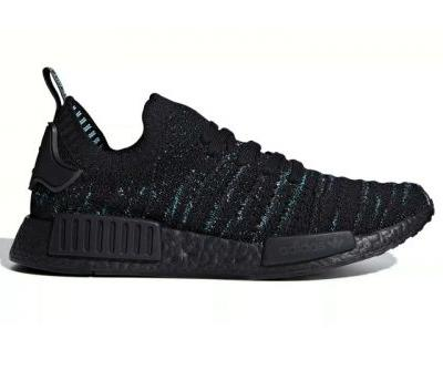 "Parley and adidas Return With NMD R1 ""Core Black/Blue Spirit"""