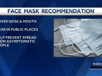 Polk County Health recommends face mask use in public
