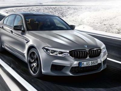 BMW Has Revealed The Crazy Pace Of The 616bhp M5 Competition