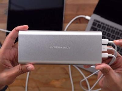 Hands-on w/ HyperJuice, 'the world's most powerful' USB-C battery pack