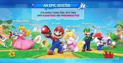 New Details About Mario + Rabbids: Kingom Battle Confirmed for Switch