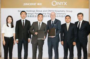 ONYX Hospitality Group and Sincere Holdings Group Forge Strategic Multi-Property Partnership for Shama Brand Expansion across China