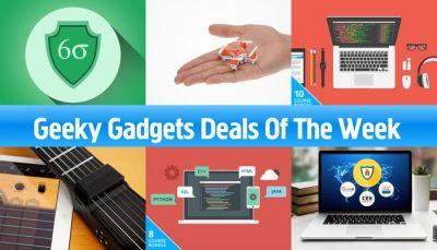 Geeky Gadgets Deals Of The Week, 14th Of January 2017