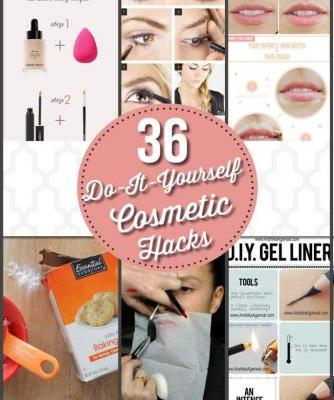 36 DIY Cosmetic Hacks You Never Knew Existed