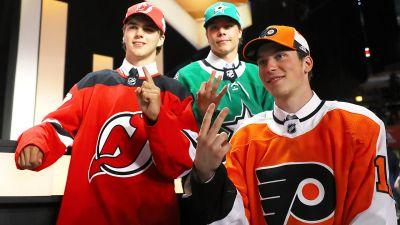 By the numbers: First round of 2017 NHL Draft sets several records