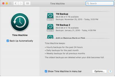 When backups go bad: The problem with using network drives with Time Machine