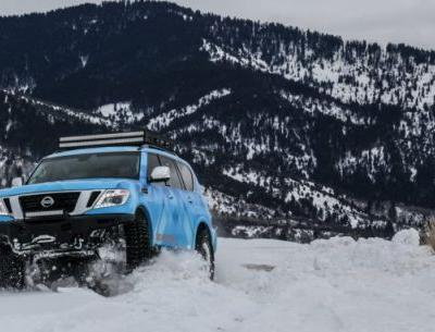 The Nissan Armada Snow Patrol Is a One-Off Adventure Rig