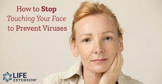How to Stop Touching Your Face to Prevent Viruses