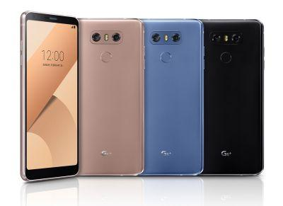 LG G6+ with 6GB RAM and 128GB storage is now official, facial recognition coming next month