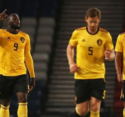 Iceland 0 Belgium 3: Red Devils cruise with in-form Lukaku at the double