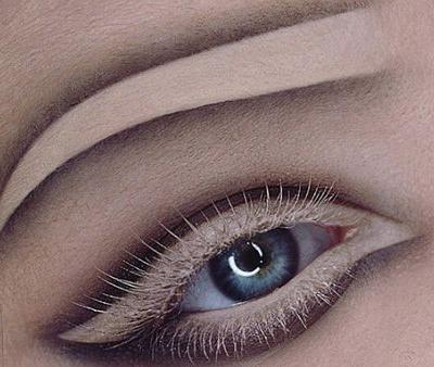 Negative Space Brows Could be the Most Bizarre Trend We've Seen Yet