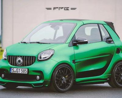 Rendered: Smart ForTwo With AMG GT R DNA