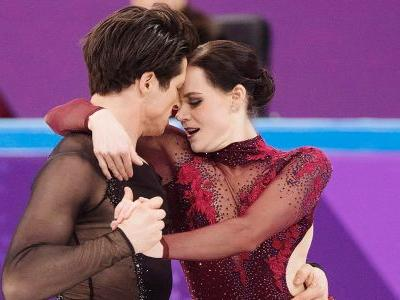 Canada's Tessa Virtue and Scott Moir win gold medal in ice dancing