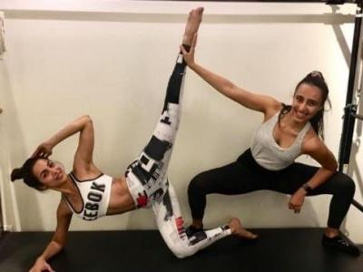 Malaika Arora perfectly nails mid-air Pilates stretches. Watch video