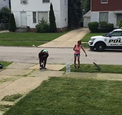 Video: Neighbors Call Police On 12-Year-Old Black Kid Entrepreneur Cutting Grass