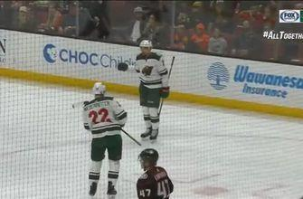 WATCH: Dumba's blast gets Wild on the board