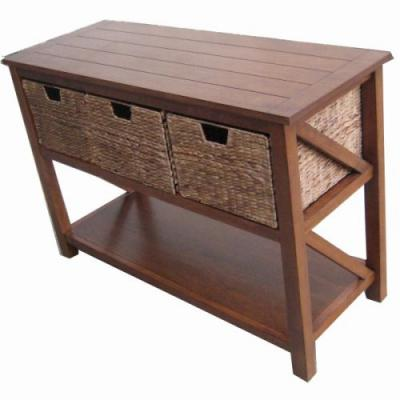 50 Elegant Console Table with Baskets Images