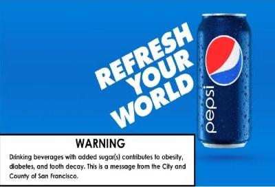Court says San Francisco's soda pop warnings unconstitutional