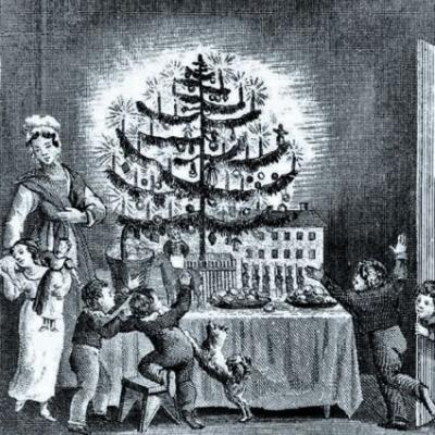 19C US - Christmas Trees & Cards
