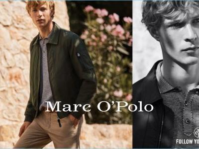 Sven de Vries Reconnects with Nature for Marc O'Polo Spring '18 Campaign