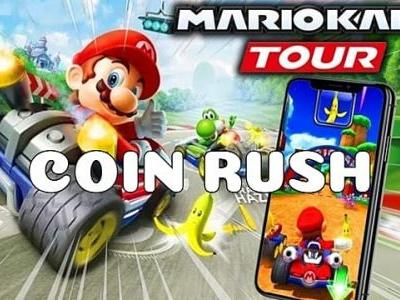What is a Coin Rush in Mario Kart tour?