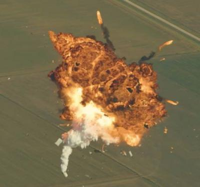 Elon Musk released a supercut of SpaceX rocket explosion videos with never-before-seen footage