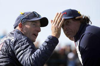 Mickelson gets another day off at Ryder Cup in Europe