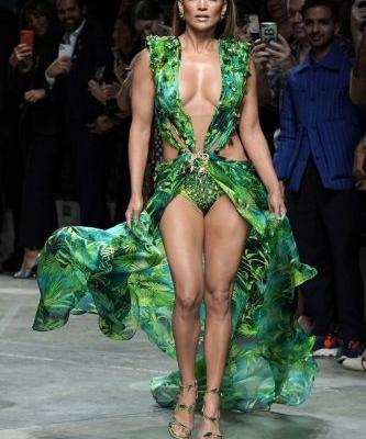 Versace Is Suing Fashion Nova For Knocking Off J.Lo's Iconic Green Dress