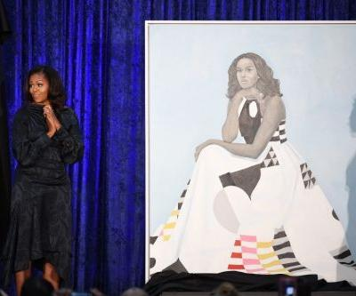 Dress designer 'flipped out' - in a good way - when Michelle Obama's portrait was unveiled