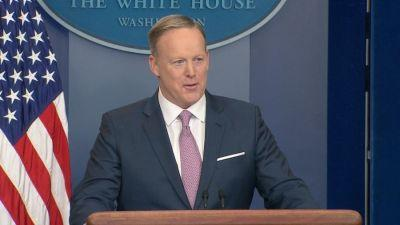 Reports: Sean Spicer Has Been Approached To Join 'Dancing with the Stars'