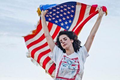 Lana Del Rey Is Breaking up with the American Flag Because of Donald Trump