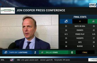 Jon Cooper on Lightning's penalty kill going 6-6, Andrei Vasilevskiy's shutout