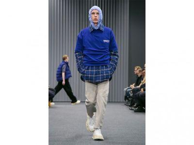 Balenciaga's Men's Show Was Inspired By. Bernie Sanders?!?
