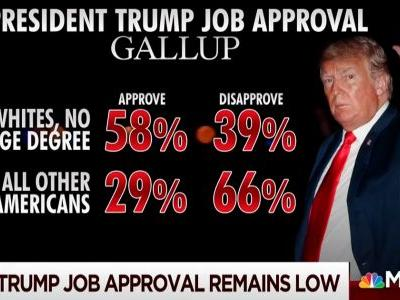 Morning Joe on New Trump Approval: He's Sacrificing Every Other Group for Non-College Graduate Whites