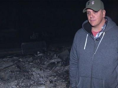 'It's heartbreaking': Northern California firefighter loses home in wildfire