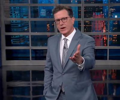 "Did Stephen Colbert Dip Back Into ""C*ck-Holster"" Talk With His Monologue on Trump in Russia?"