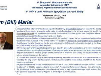 Off to IAFP in Buenos Aires Argentina this week to talk Food Safety