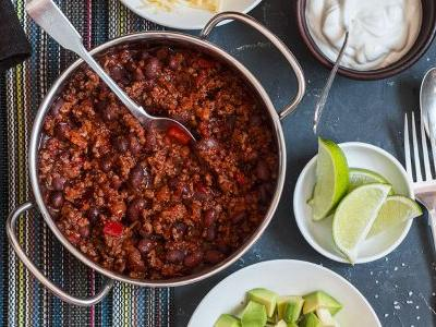 Raising a Glass to Bourbon-Spiked Kentucky Chili