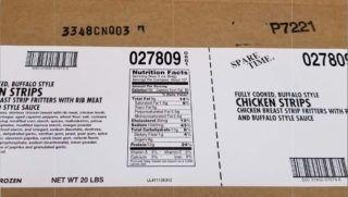 Tyson recalls almost 32 tons of chicken strips after complaints about metal bits