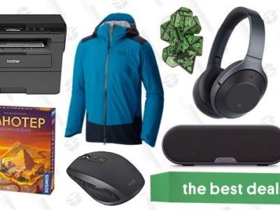 Sunday's Best Deals: Board Games, Brother Printer, REI Garage Sale, and More