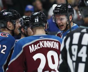 Avalanche break 6-game skid with 6-1 win over Rangers