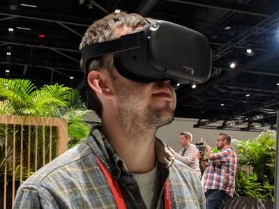 With Facebook's new headset, the future that virtual reality fanatics dream of is closer than ever -but we're not there yet