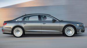 The 2019 Audi A8 Will Drive Itself Up to 37 mph