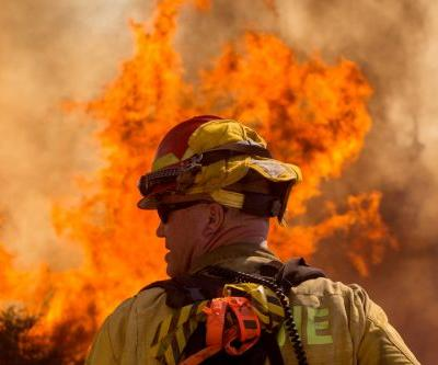 Over 7,000 people evacuated due to the Apple Fire in Southern California