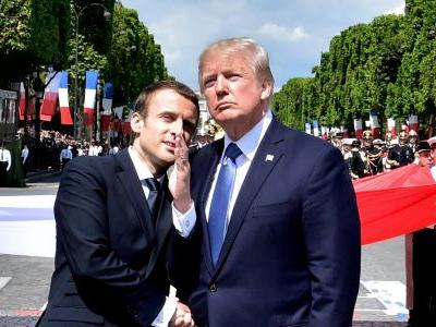 Emmanuel Macron said he was the brains behind Trump's airstrike on Syria - and convinced him to commit for the long term