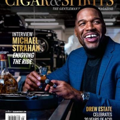 Cigar & Spirits Magazine Releases its September / October Issue Featuring Michael Strahan