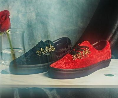 These Crushed Velvet Vans Are Giving Me Weirdly Cool Dracula Vibes