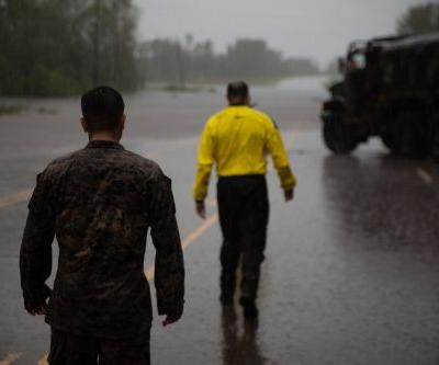I embedded with US Marines on a Tropical Storm Florence search and rescue mission - here's what happened