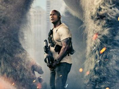 Meet George the Giant Ape in First Rampage Poster